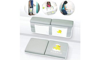 Baby Bath Kneeler and Elbow Rest Set