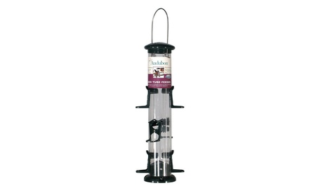 Woodlink 15in. Audubon 6 Port Seed Tube Feeder NATUBE12 (Goods For The Home Patio & Garden Bird Feeders & Food) photo