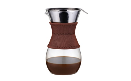 Osaka Pour-Over Drip Brewer, 6 Cup (27 oz) Glass Carafe w/ S.S Filter 7194d8ce-0215-44e8-bbb1-59a29a33500a