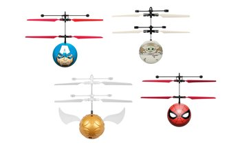 Marvel, DC, Harry Potter, Star Wars and Disney Hand-Sensor Ball Helicopter