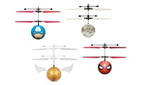 Marvel, DC, Harry Potter, Star Wars and Disney Hand-Sensor Ball Helicopter