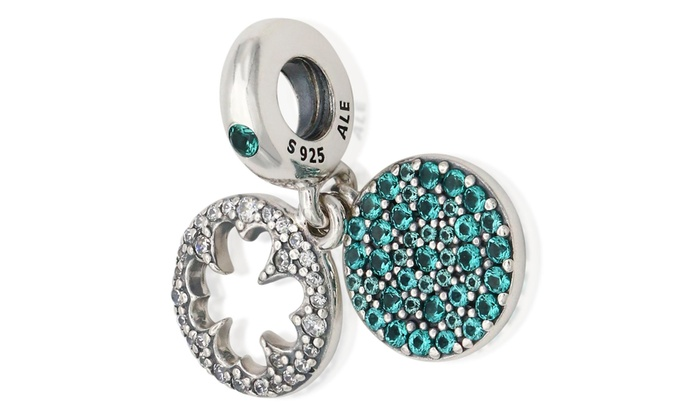 fc0fcd07d PANDORA Dazzling Clover Dangle Charm Crystal Sterling Silver