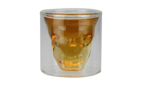 Anti-slip Heat-resistant Skull Head Wine Glass Cup 44913705-bec9-460e-955b-d356753c2407