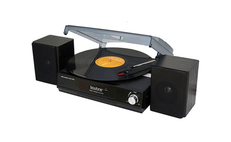 3-Speed Stereo Turntable System w/ 2 External Speakers 33/45/78 RPM 34b4c397-77ed-49f8-9430-0d0b4a55d69c