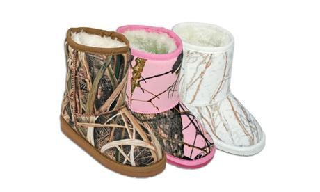 Dawgs Kids & Toddlers Mossy Oak Microfiber Boots c863108d-ce83-4da8-92dd-8e2d631239df