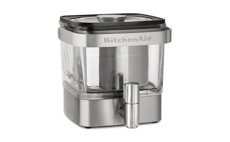 KitchenAid KCM4212SX Cold Brew Coffee Maker, Brushed Stainless Steel photo