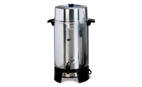 West Bend 100-Cup Polished Coffee Maker Urn - 33600 dbc825fa-b4e4-418e-a209-966d8cffff23