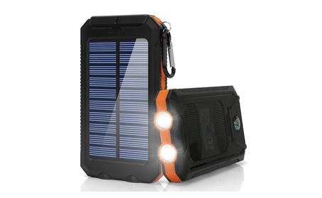 Ayyie Solar Charger, 10000mAh Portable External Backup Battery Pack ed8b2cbd-5c62-4a8c-98df-973dc012ad1e
