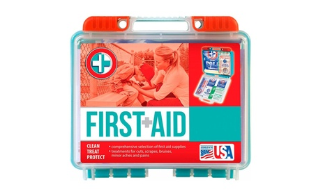 Portable First Aid Holder 141 Pieces 0bdddf22-0714-49ed-a6e3-4a937c32ea81