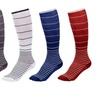 Unisex Ultra-Support Striped Knee-hi Compression Socks (5-Pack)