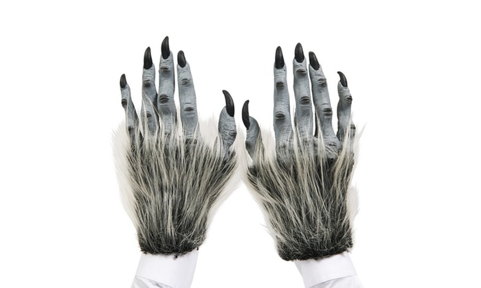 Grey Beast Adult Hands