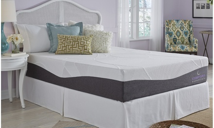 "Comfort Essentials Plus 10"" Custom Comfort Gel Memory Foam Mattress"