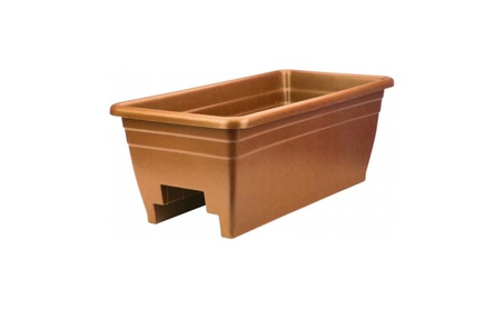 Myers-itml-akro Mils Clay Rail Planter SPX24DB0E24 - Pack of 5 7f3a6b5c-04e5-428c-8856-3f448799c0eb