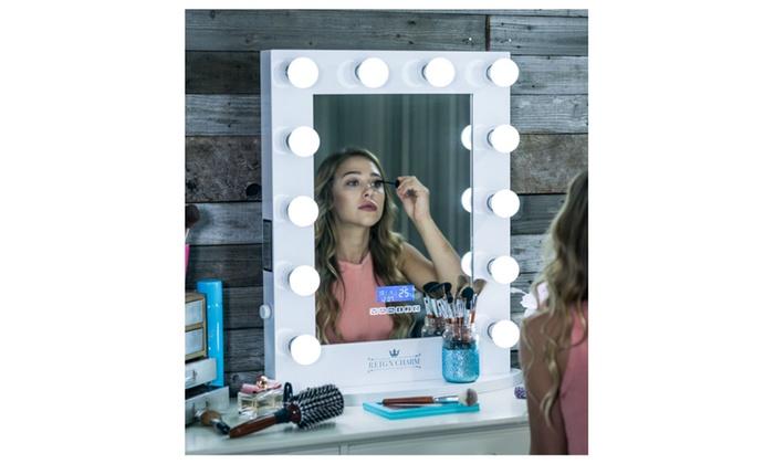 Hollywood Vanity Mirror Bluetooth Audio Enabled Led Light Bulbs