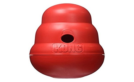 KONG Wobbler Treat Dispensing Dog Toy, Large c740e1ae-3e82-498a-81fb-fcad2f365960