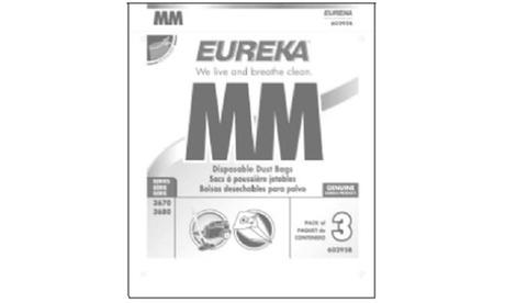 Electrolux 60295C Eureka Style MM Paper Bag 3 Pack photo