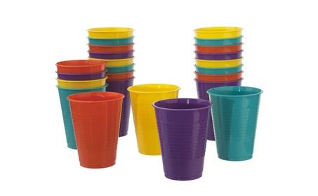 24 Pack Break-resistant Plastic 18oz Tumblers in 4 Assorted Colors 3f146459-ac0e-40e0-84f6-7841e189c1c1