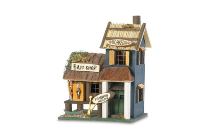 Bass Lake Lodge Wood Bird House (Goods Outdoor Décor Bird Feeders & Baths) photo