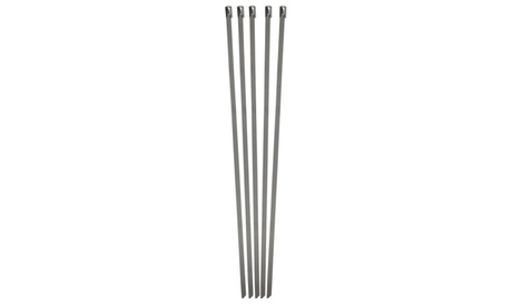 """10 piece Set 11"""" Stainless Steel Wire Ties 4ce16b98-bb9a-4487-996b-b41accc0b35a"""