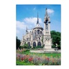 Kathy Yates 'Notre Dame in Spring' Canvas Art