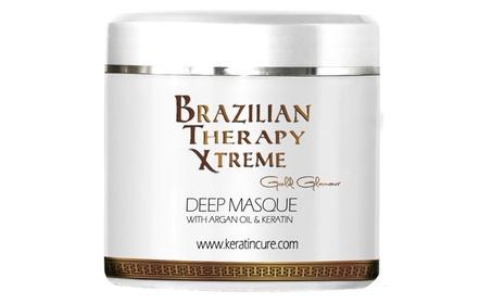Keratin Cure Deep Hair Reparation Masque BTX Pina Colada 500gr/17oz 9b9f0143-5502-425a-906e-bcaaeb06c259