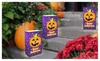 Battery Operated Halloween Luminary Kit 12 Count