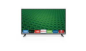 "VIZIO D55-D2 D-Series 55"" Class Full Array LED Smart TV Black Refurbished"