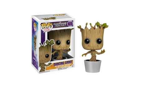 Funko POP! Marvel: Dancing Groot Bobble Action Figure 3e42e58d-84f6-4840-87bf-b4f383f11d37