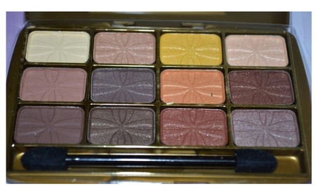Beauty Treats 12 Color Palette Eye Shadow Brown Colors 67858767-7f11-438e-bd57-ca8c121e5074