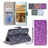 Glitter Wallet Case for iPhone 7/8, 7/8 Plus, Galaxy S8/S8 Plus, J3/J7