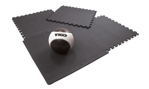 TKO Interlocking Large Floor Mat Set (4-Piece)