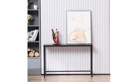 Sofa Console Table for Hallway Entryway Living Room