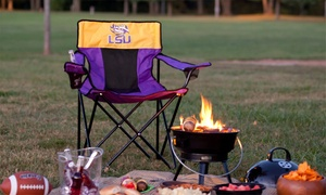 Logo Brands NCAA Folding Elite Chair with Carrying Case