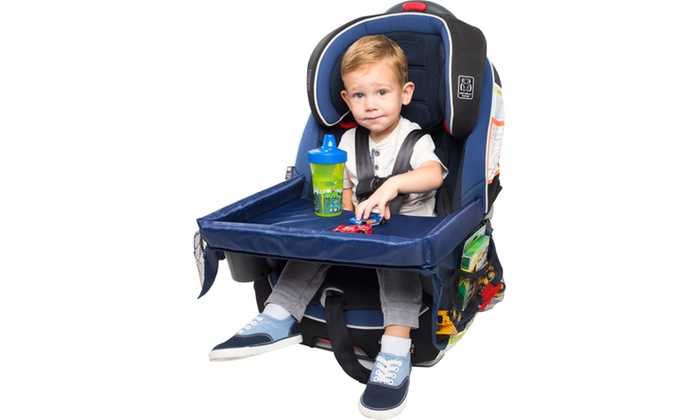 Childrens Snack Play And Learn Activity Tray For Car Seats