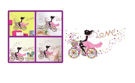 Fashionable Removable Vinyl Wall Sticker For Girls bcd4c177-c514-4567-bb07-bc1b2865a515