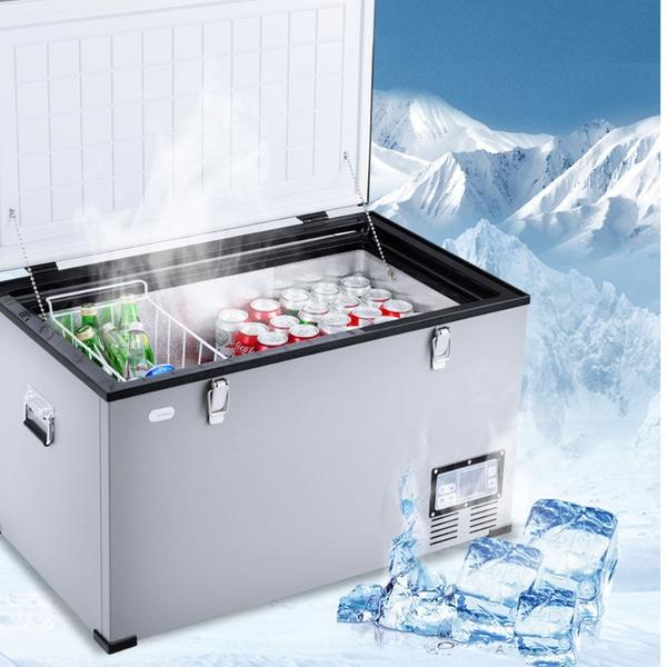Costway 79-Quart Portable Electric Car Cooler Refrigerator / Freezer