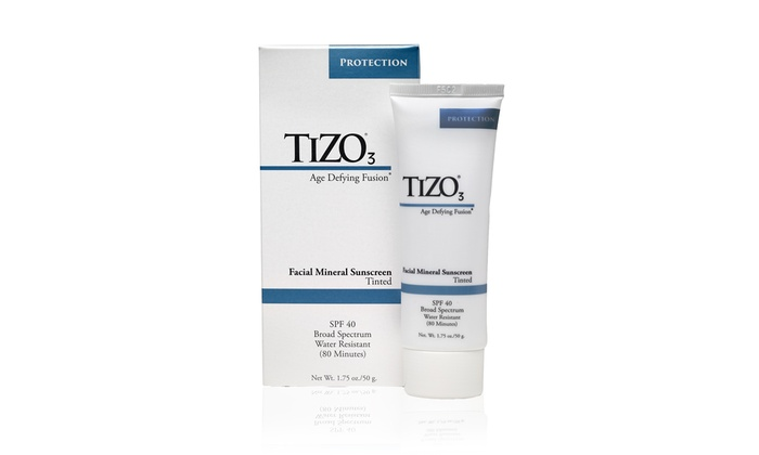 Tizo 3 Mineral Sunscreen Tinted Spf 40 Water Resistant