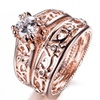 Fashion Rose Gold Filled Unisex Ring
