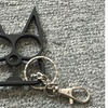Security Metal Cat Keychain for Self Defense