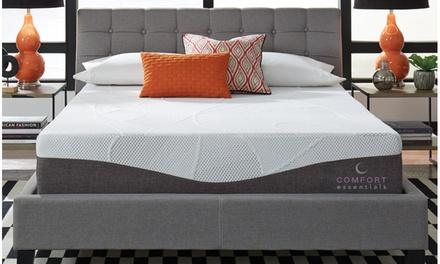 "Comfort Essentials Plus 12"" Custom Comfort Gel Memory Foam Mattress"