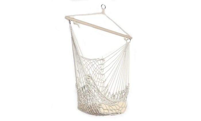 Up To 1 Off On Hammock Chair Swing Hanging R Groupon Goods
