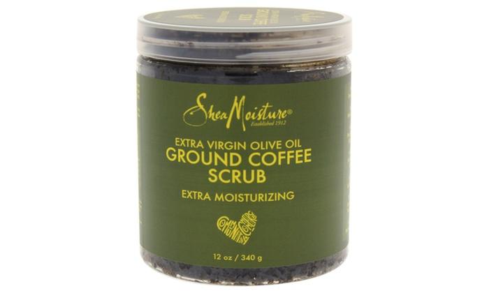 Shea Moisture Olive Oil Coffee Scrub Scrub | Groupon