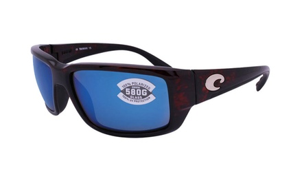 698c73d2da Costa Del Mar Fantail TF 10 OBMGLP Tortoise   Blue Mirror 580G Glass ...