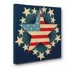 Star Flag CANVAS Wall Art Home Décor 20x20