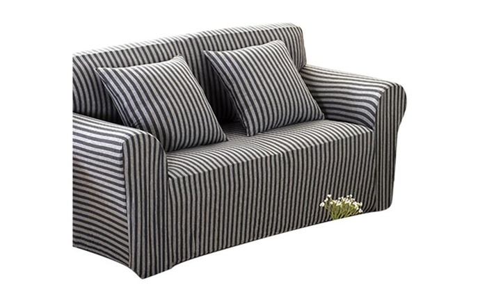 Spotlight: Sofa Cover Slipcover Couch Slip Over Fabric Fit Protector ...