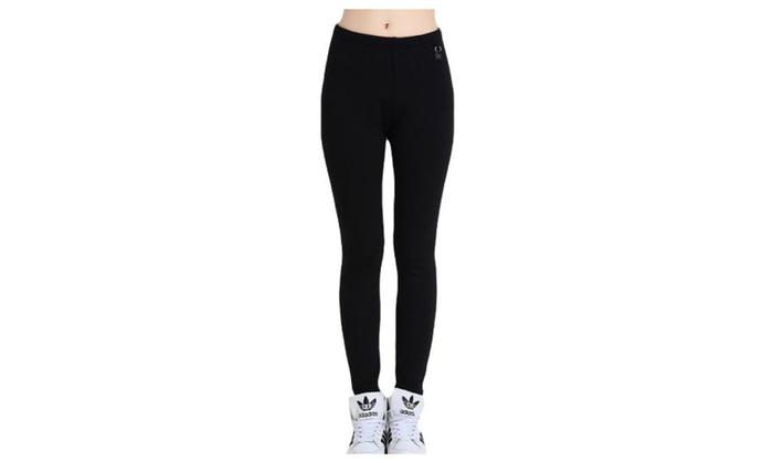 Women's Slim Fit Simple Mid Rise PullOnStyle Long Leggings
