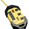 Tripplite Safety Power Strip, 8 Outlets, 12 Ft Cord W/Gfci Plug