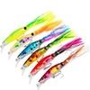 6 pcs Classic Plastic Squid Lure  14cm/40g Bionic Fishing Bait