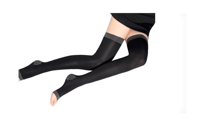 1 Pair of Overnight Slimming Therapy Socks For Women