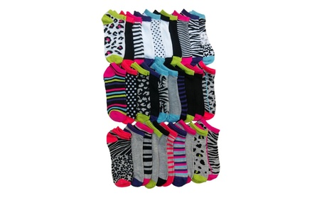 30 Pairs of WSD Womens Ankle Socks, Low Cut Sports Sock - Assorted a7b41cdc-663d-4da0-b537-8c114de609f4